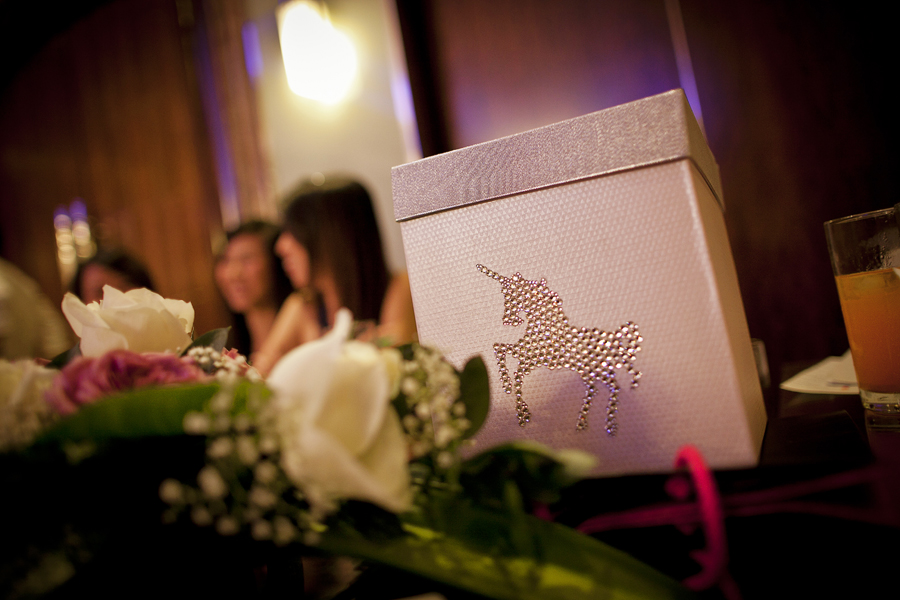 unicorn wedding box