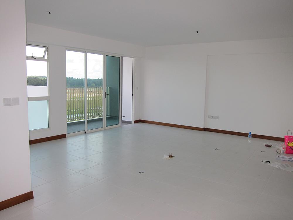 HDB BTO Singapore living room 5 room flat