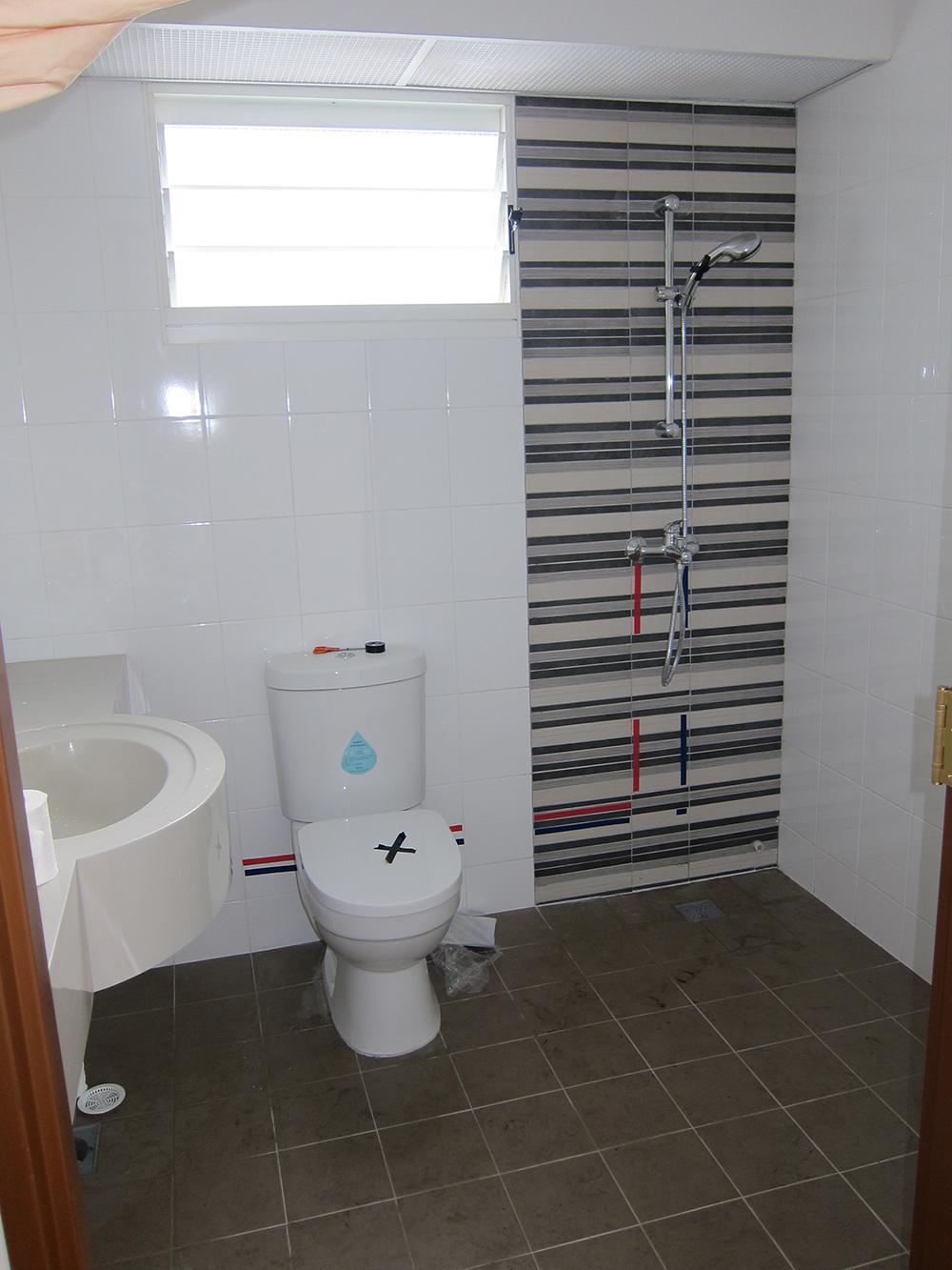 HDB BTO Singapore washroom